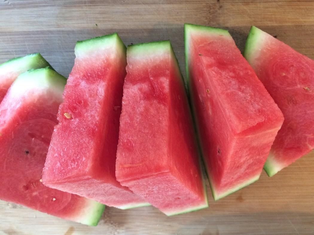 Grill-Melone mit Jalapenos und Zitrone