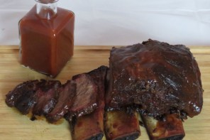 US Shortloin Ribs mit Cherry-Coke-BBQ-Sauce