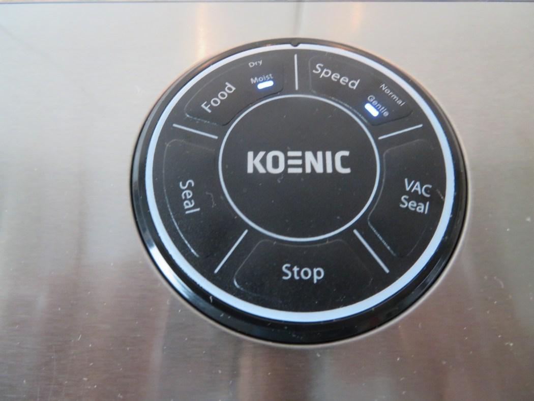 Produkttest und Verlosung Vakuumierer KOENIC KVS 3411M