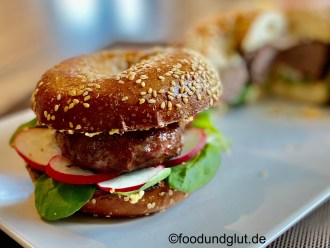 Irish Black Angus Donut Burger