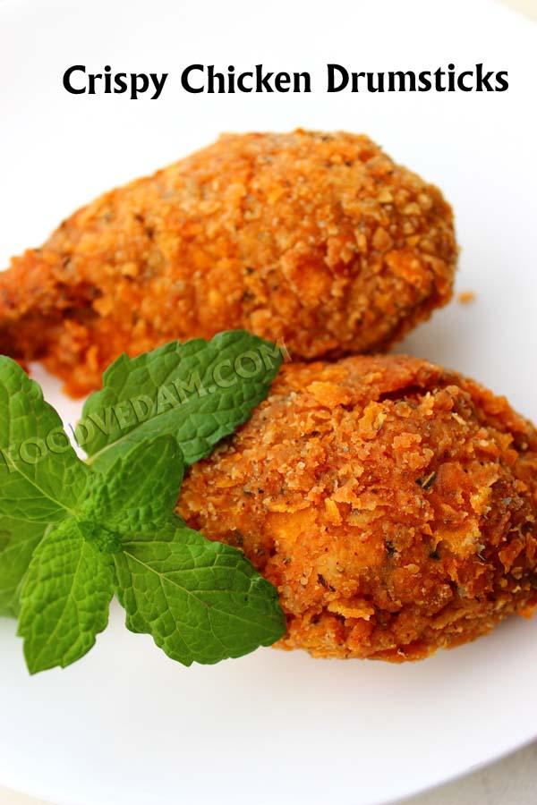 Crispy Chicken Drumsticks Recipe Foodvedam