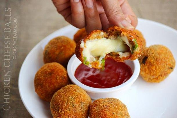 chicken cheese balls