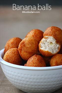 Banana Balls recipe – fried banana balls recipe for kids