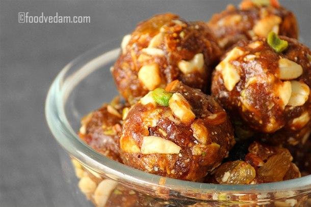 Dry Fruit laddu Recipe