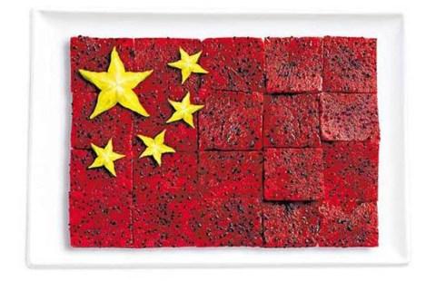 china dragon and star fruit