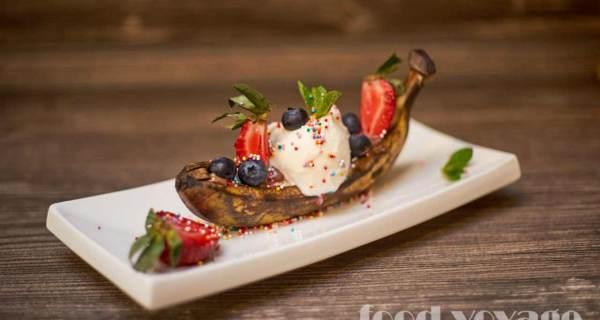 Десерт «Банановый Сплит»