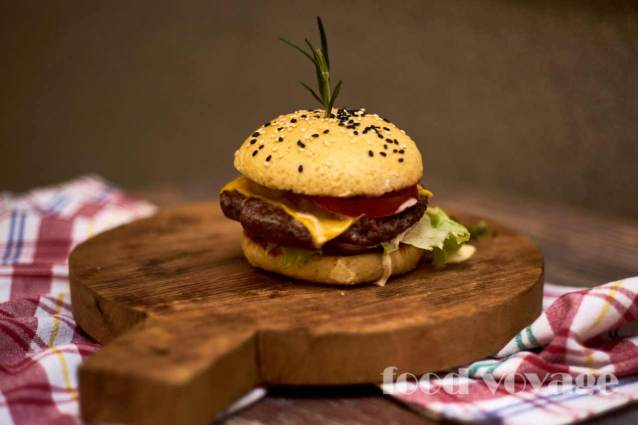 Бургер «Блэк Ангус»
