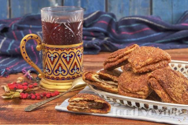 Творожное печенье «Поцелуйчики с корицей»