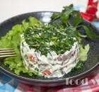 Оливье по новому, салат без картошки