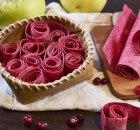Клубнично яблочная домашняя пастила по моему рецепту
