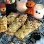 Halloween Snack aus Blätterteig