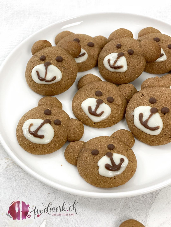Bären Keks mit Farina Bona
