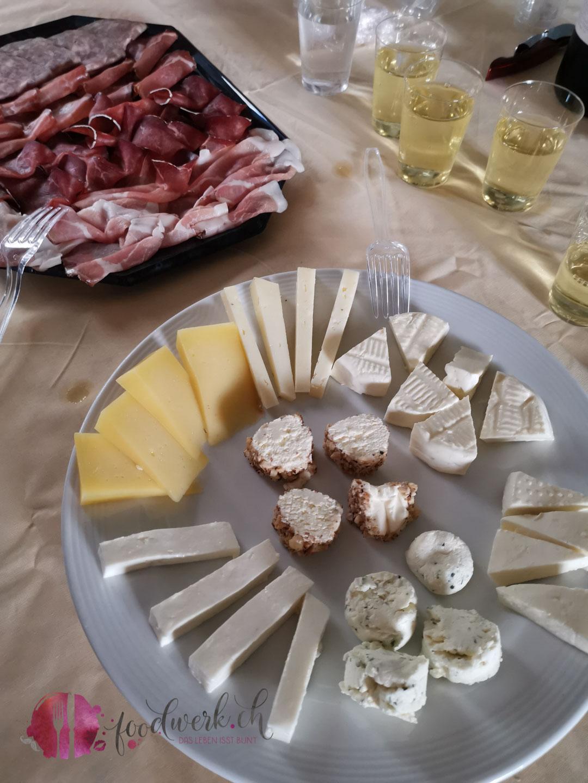 Degustation an der Foodtour in Bellinzona