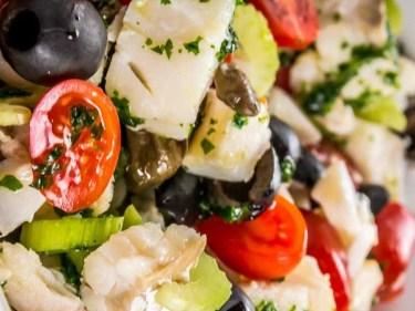insalata baccalaà