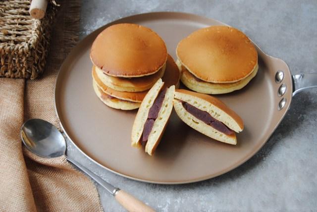 purple sweet potato dorayaki recipe