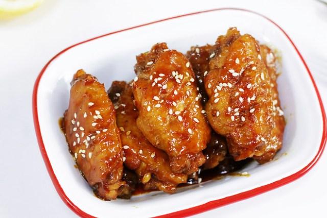honey sauce chicken wing recipe