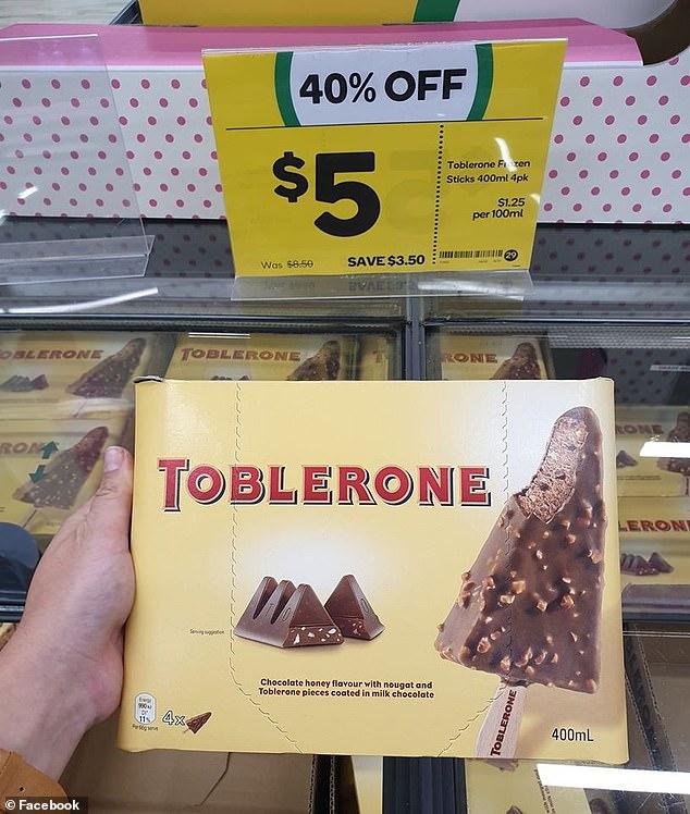 三角巧克力變冰棒啦! 超濃郁「蜂蜜杏仁牛軋糖冰淇淋」入口就是巧克力饗宴 - Foody 吃貨