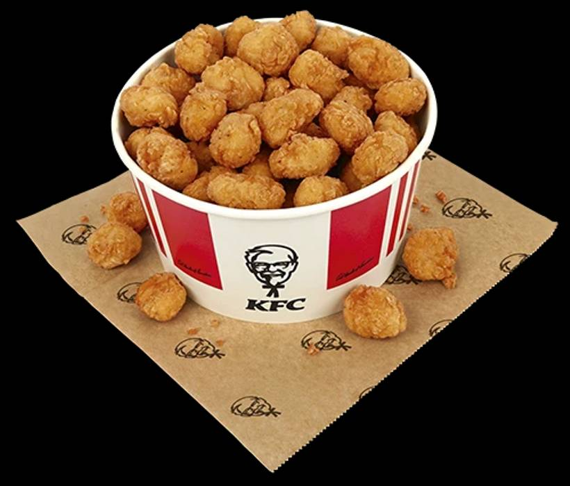 肥宅夢幻逸品!肯德基推超狂「80塊雞米花桶」 浮誇份量「堆成小山」好滿足! - Foody 吃貨