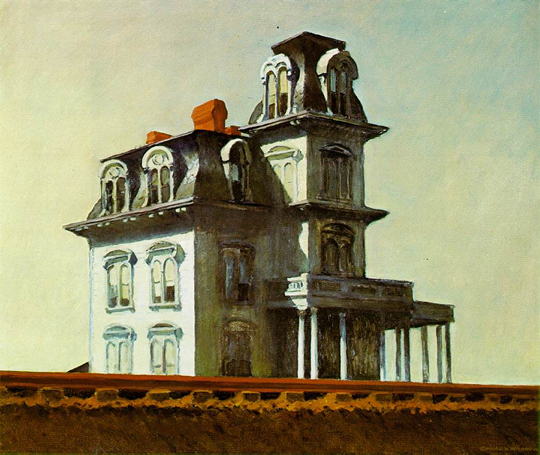 House by the Railroad - E. Hopper