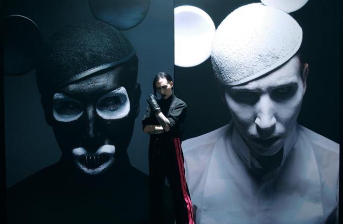 """Pochette de l'album """"The Golden Age"""", de Marilyn Manson."""
