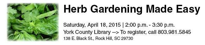 Herb Gardening Event