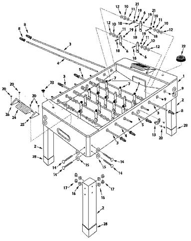 Foosball Table Plans Pdf