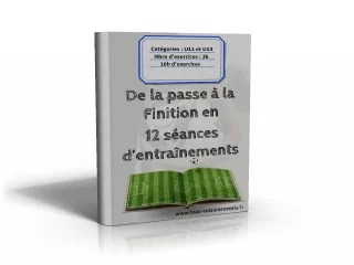 Programmes entrainement foot U11 - U13