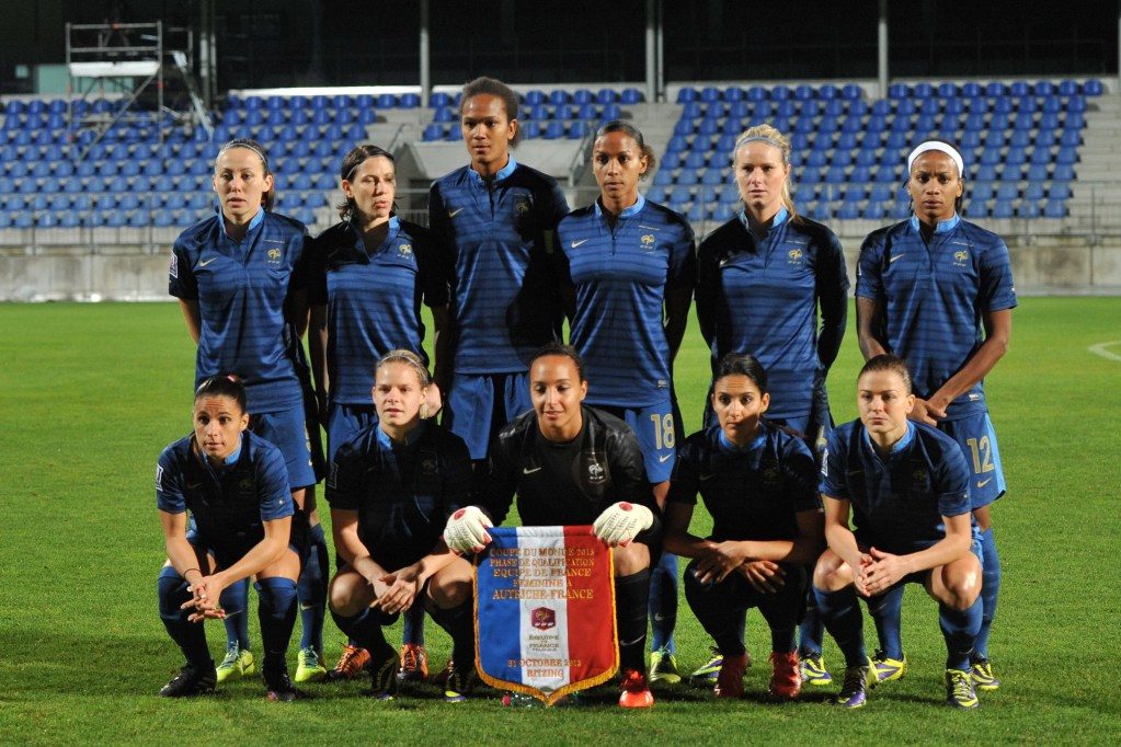 football feminin exercice