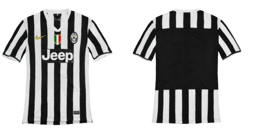 juve2 In Pictures: Juventus release brand new images of their 2013 14 home kit