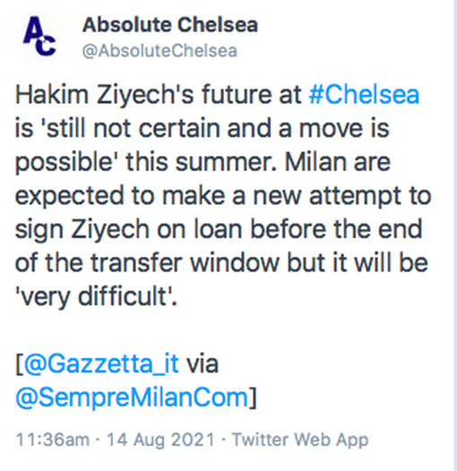 Latest Football Transfer News For Today Monday 15th August 2021