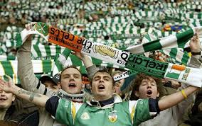 celtic fans football