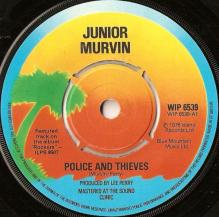 police and thieves junior murvin 1976 lp