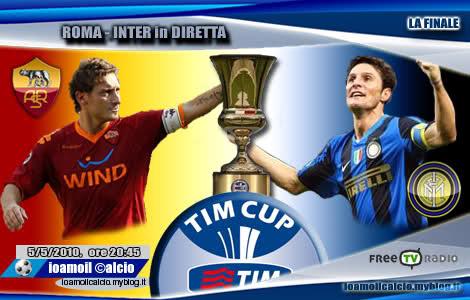 roma inter 5 maggio 2010 coppa italia