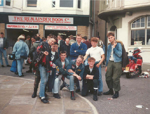 80´s scooter boys