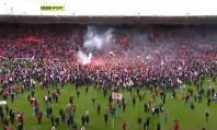 Southampton la festa dei tifosi