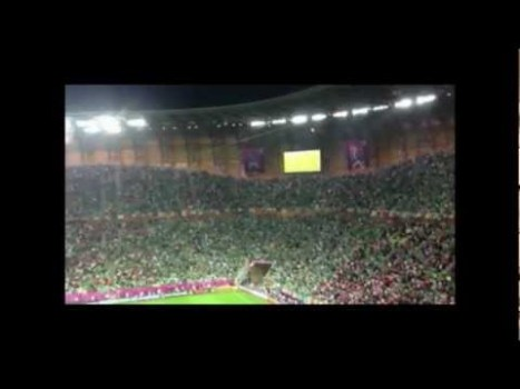 Fields of Athenry musica irlandese agli europei di football 2012