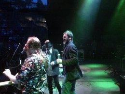 Eric Cantona Rashid Taha Justice Tonight band in Lyon