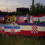 hooligans lech poznan con trofei euro 2012