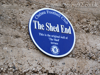 the shed end stmford bridge chelsea fc