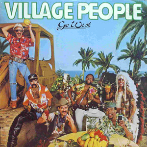 village people go west LP disco vinyl
