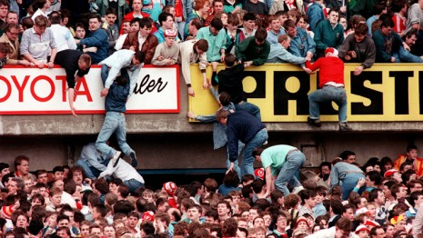 hillsborough disastro