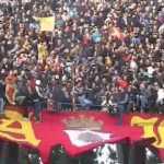 Coro ultras Lecce, Pericolo se vieni nel Salento