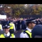 Millwall vs Leeds 18/11/2012, ospiti scortati al The Den