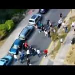 Hooligans Brighton vs Tottenham, 2010 CCTV