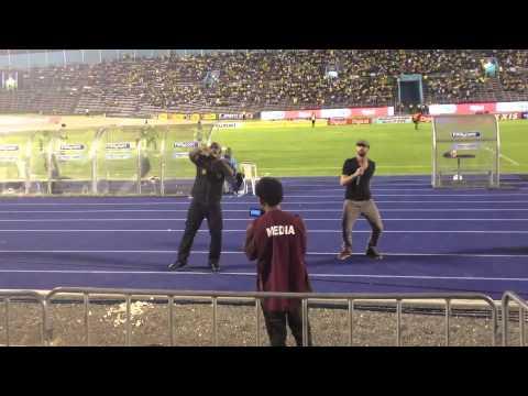 Jamaica, partita di football e musica live di Richie Stephens