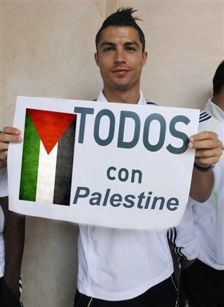 cristiano ronaldo palestina