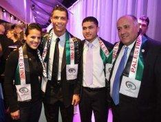cristiano ronaldo sostiene gaza