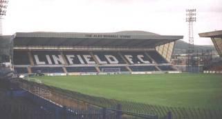 linfield fc terraces
