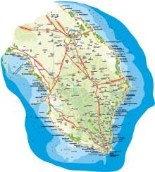 salento mappa cartina