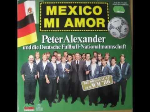 Mondiali di calcio e musica con Mexico mio amor e la RFT